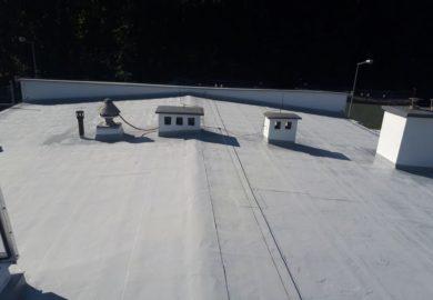 dach płaski hydroizolacja