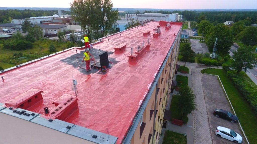 renowacja pokryć dachowych, membrana epdm