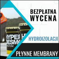 hydroizolacje wycena